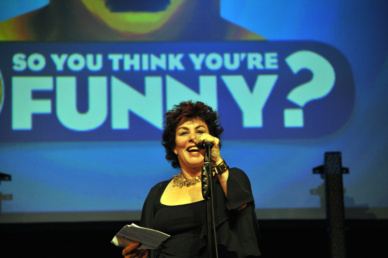 Ruby Wax announces the winners of SYTYF2012
